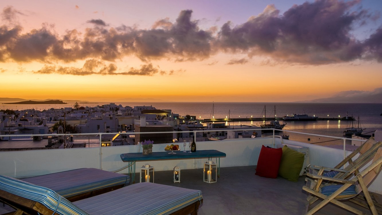 Mykonos Panorama with Private Terrace
